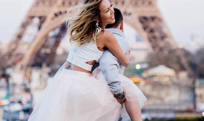 best place for propose paris engagement