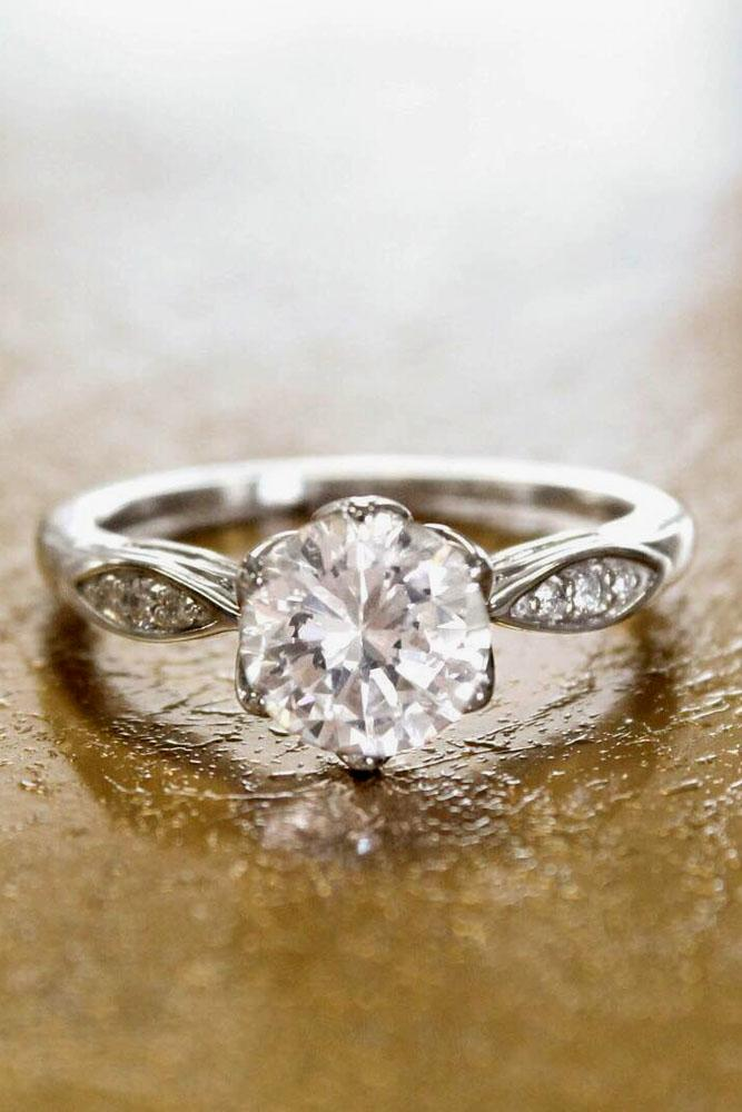 brilliant earth diamond round cut white gold engagement ring
