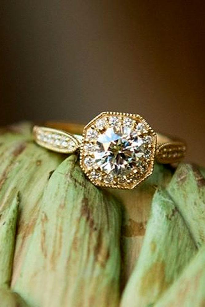 brilliant earth diamonds engagement ring rose gold