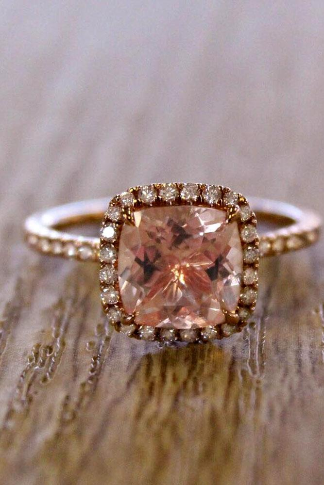 brilliant earth halo engagement ring rose gold
