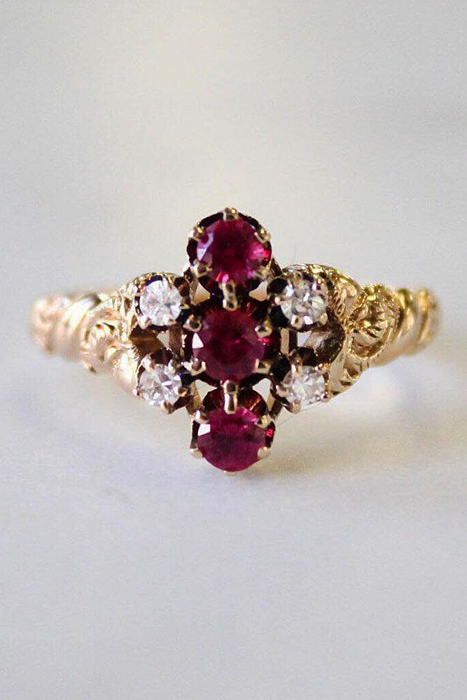 brilliant earth ruby vintage art deco yellow gold