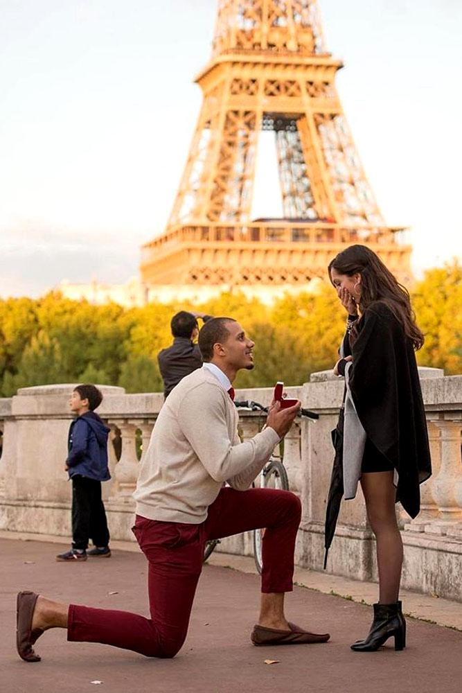 romantic paris proposals