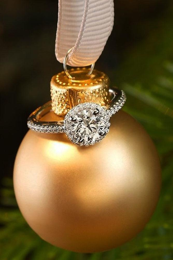 romantic ways to propose engagement ring toy christmas surprise