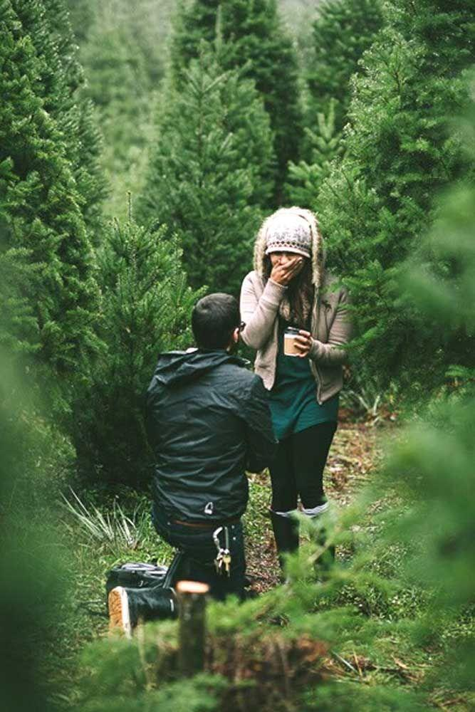 wedding proposal ideas in a park ideas couple in trees