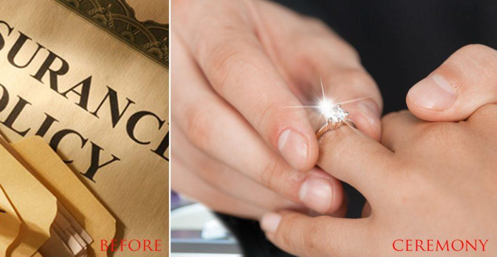 Rules For Engagement and Wedding Rings Ceremony Oh So Perfect Proposal