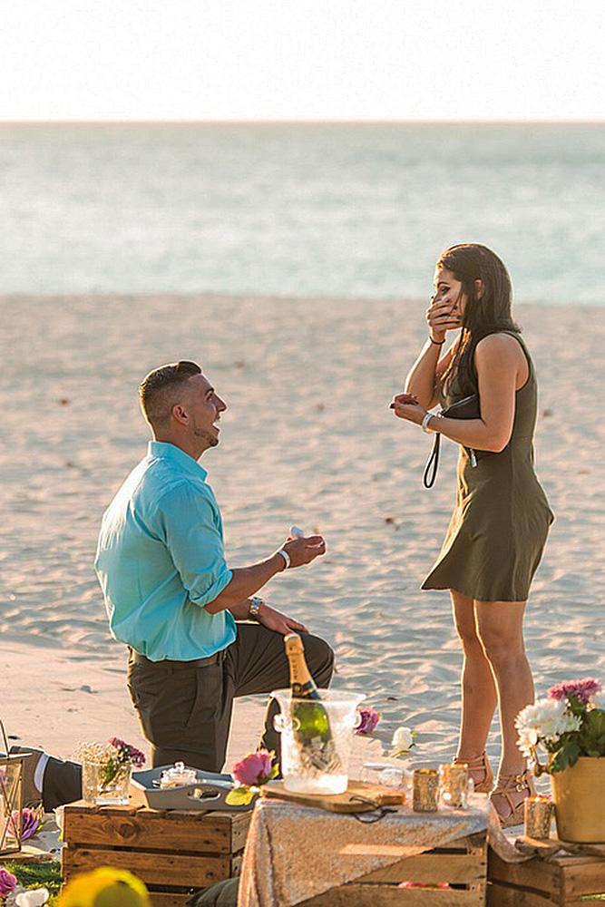 beach proposals beautiful picnic proposal romantic