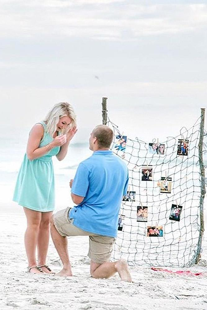 beach proposals romantic proposal couple