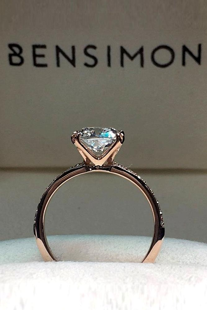 Different Stones Engagement Rings