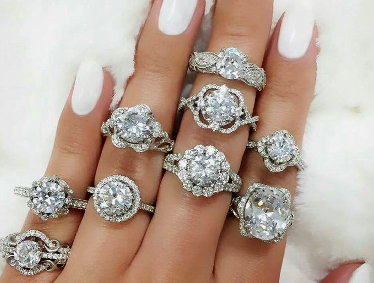 jewellery round ring rings best band pave diamond beautiful and simple pin engagements engagement top