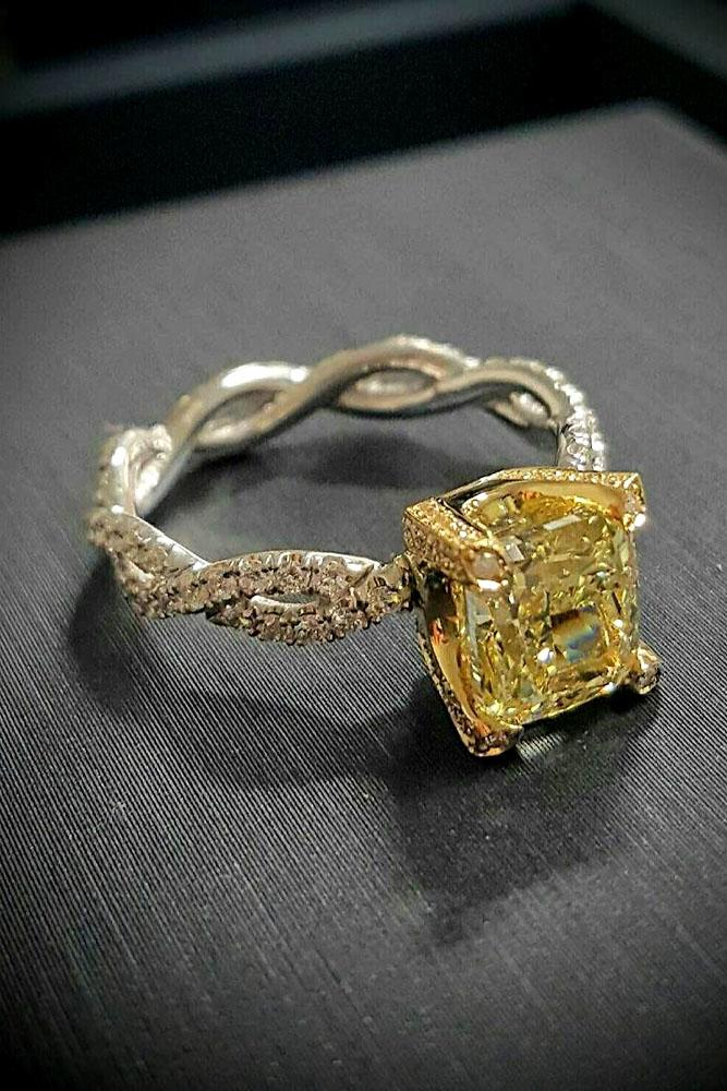 24 incredibly beautiful diamond engagement rings oh so. Black Bedroom Furniture Sets. Home Design Ideas