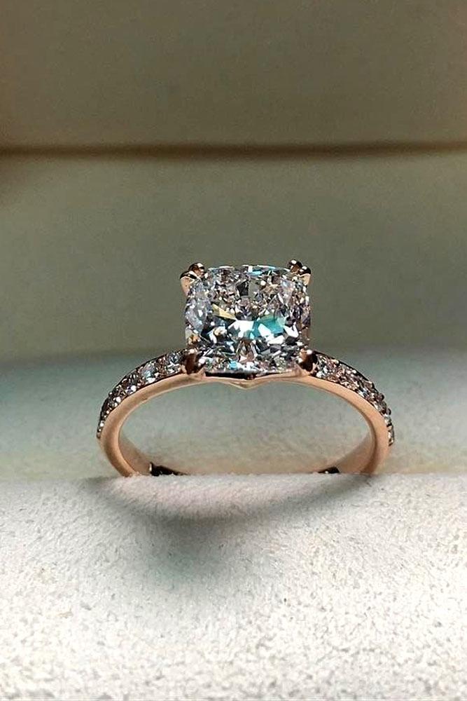 Engagement rings princess cut vintage