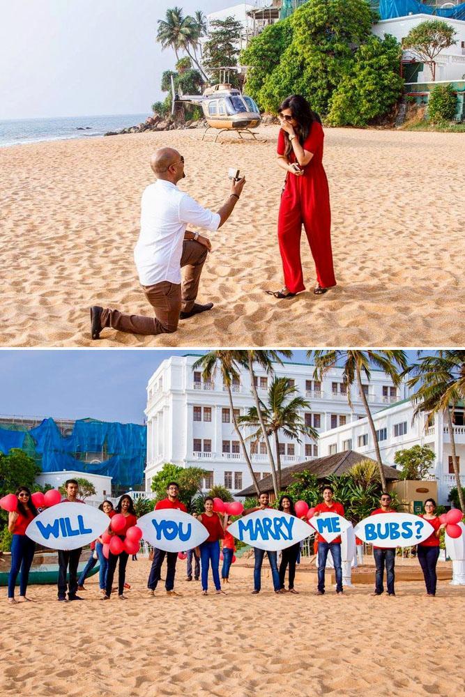 summer proposal ideas beach hotel proposing