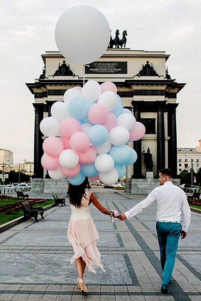 summer proposal ideas with balloons