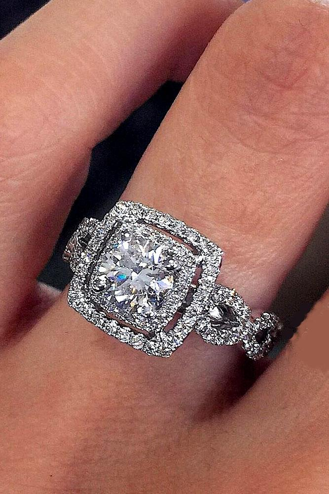 30 unique engagement rings that will make her happy oh so perfect