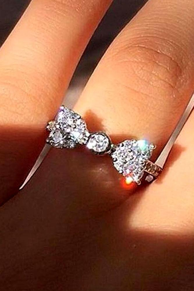 21 unique engagement rings that will make her happy oh for Wedding ring unique
