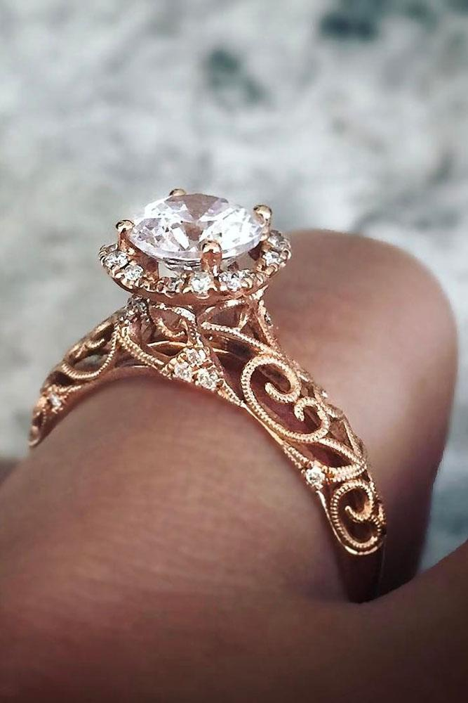 18 Sophisticated Vintage Engagement Rings To Prove Your ...