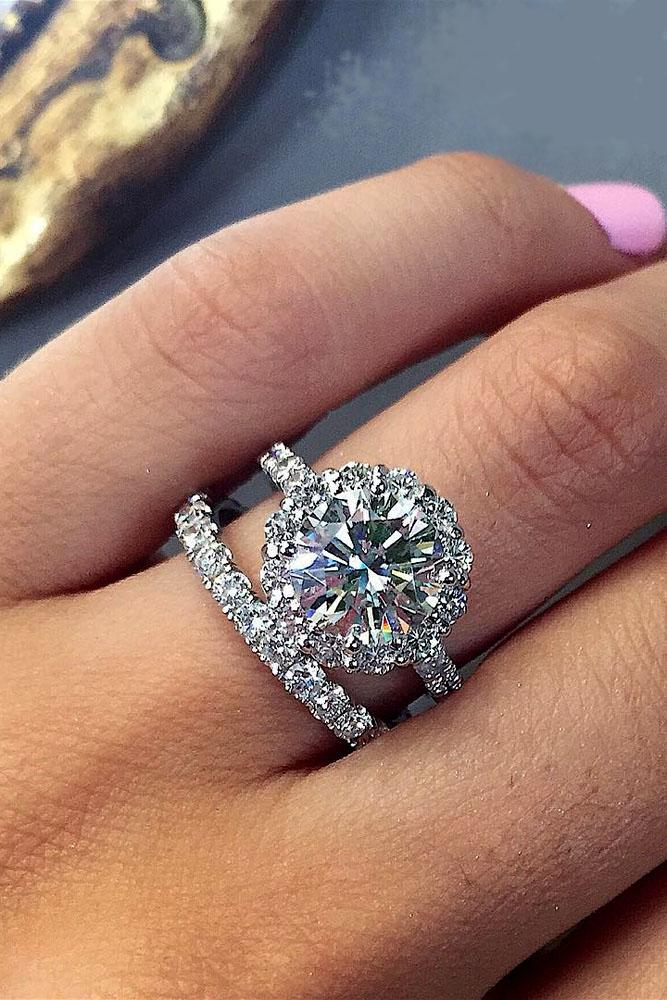 42 Excellent Wedding Ring Sets For Beautiful Women | Oh So Perfect Proposal