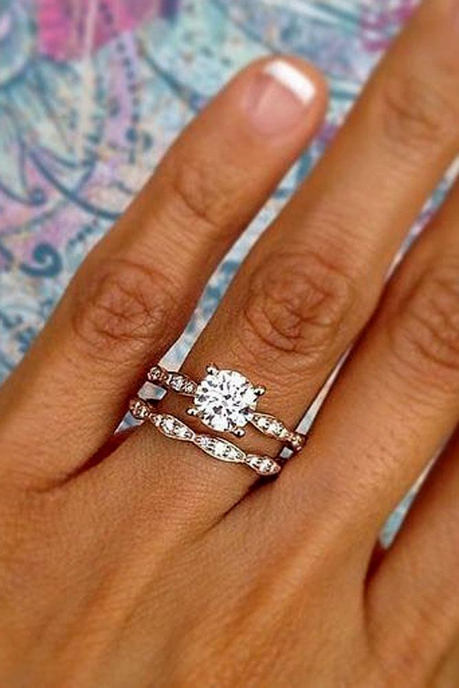 42 Excellent Wedding Ring Sets For Beautiful Women Oh So Perfect