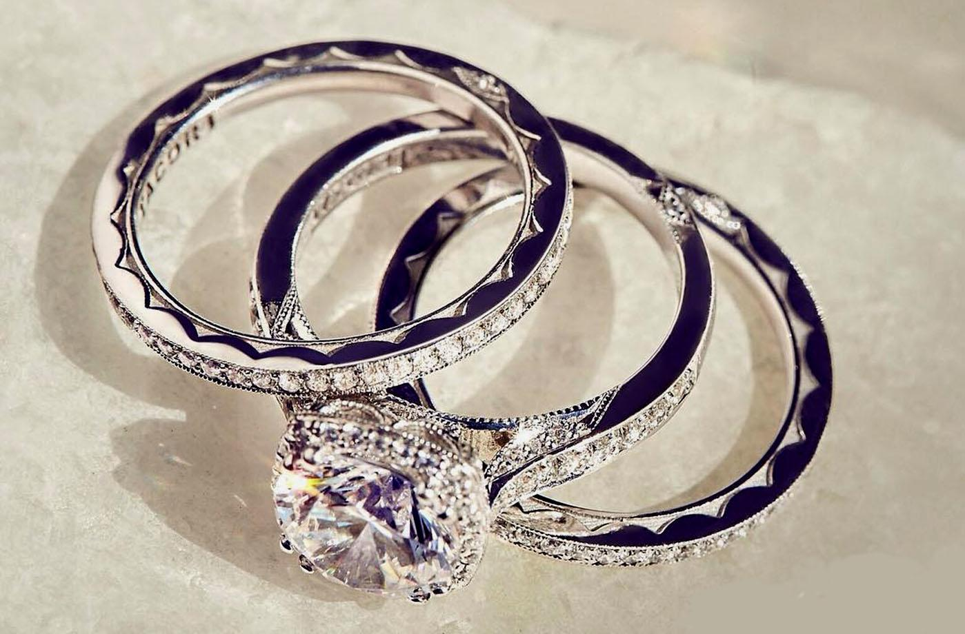 24 Excellent Wedding Ring Sets For Beautiful Women