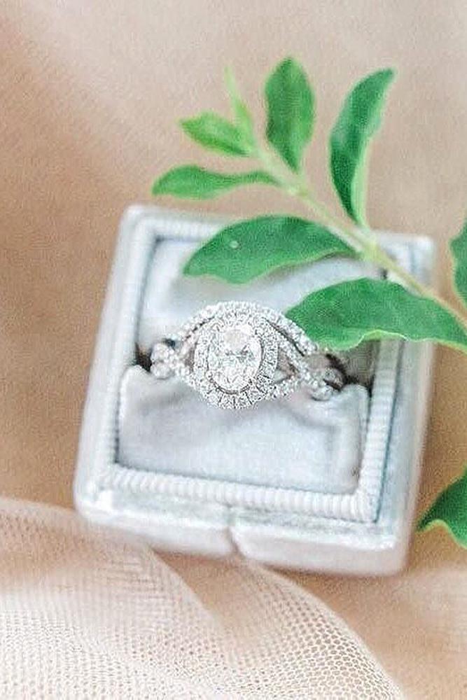 wedding ring sets white gold pave band modern