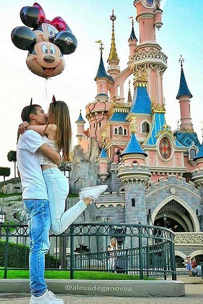 disney proposals couple romantic engagement