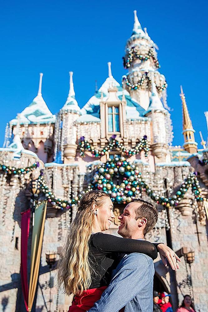 disney proposals engaged couple romantic