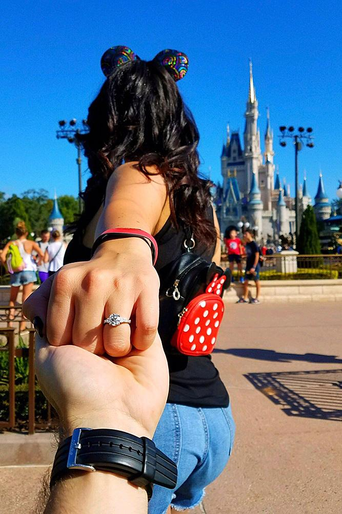 disney proposals engagement photo ring