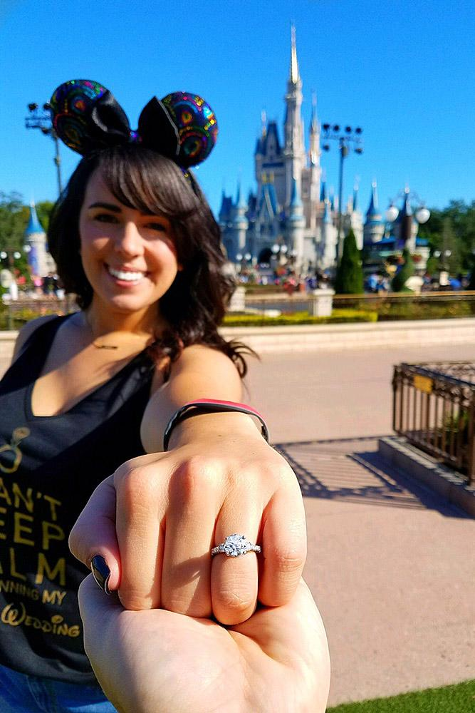 disney proposals engagement ring girl