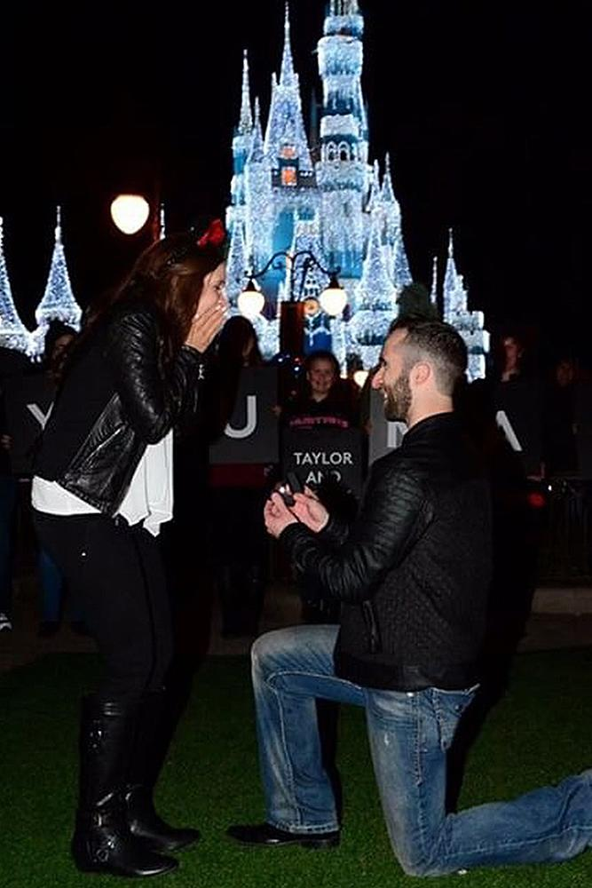 disney proposals engagement romantic couple