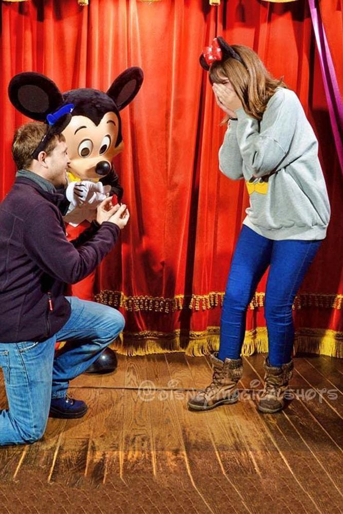 disney proposals fairy tale ideas with disney cartoon characters proposal with mickey mouse