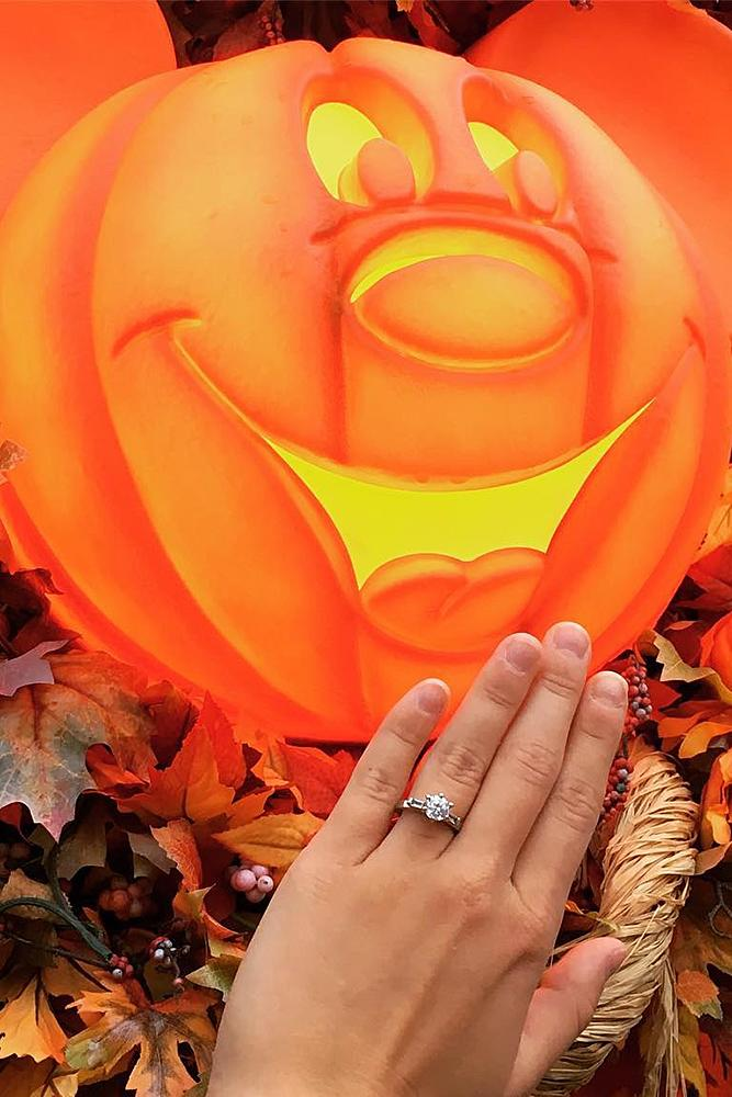 disney proposals halloween ring engagement