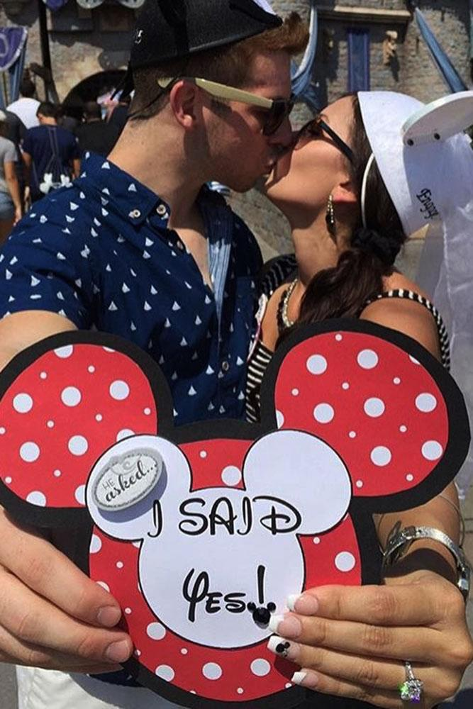Disney proposals i said yes on the hat mini