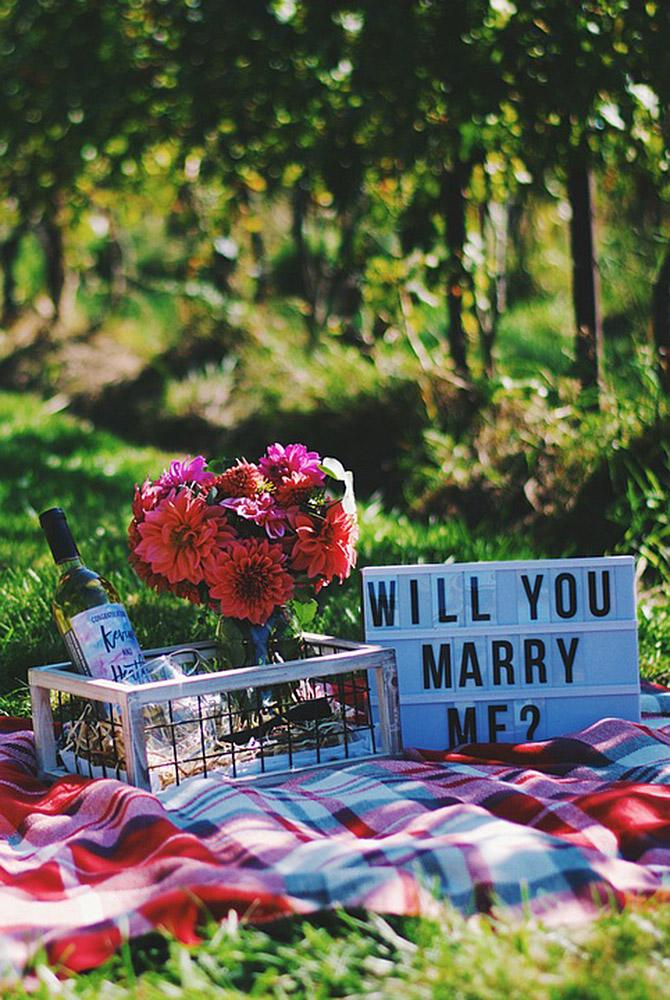 fall proposal ideas picnic propose nature