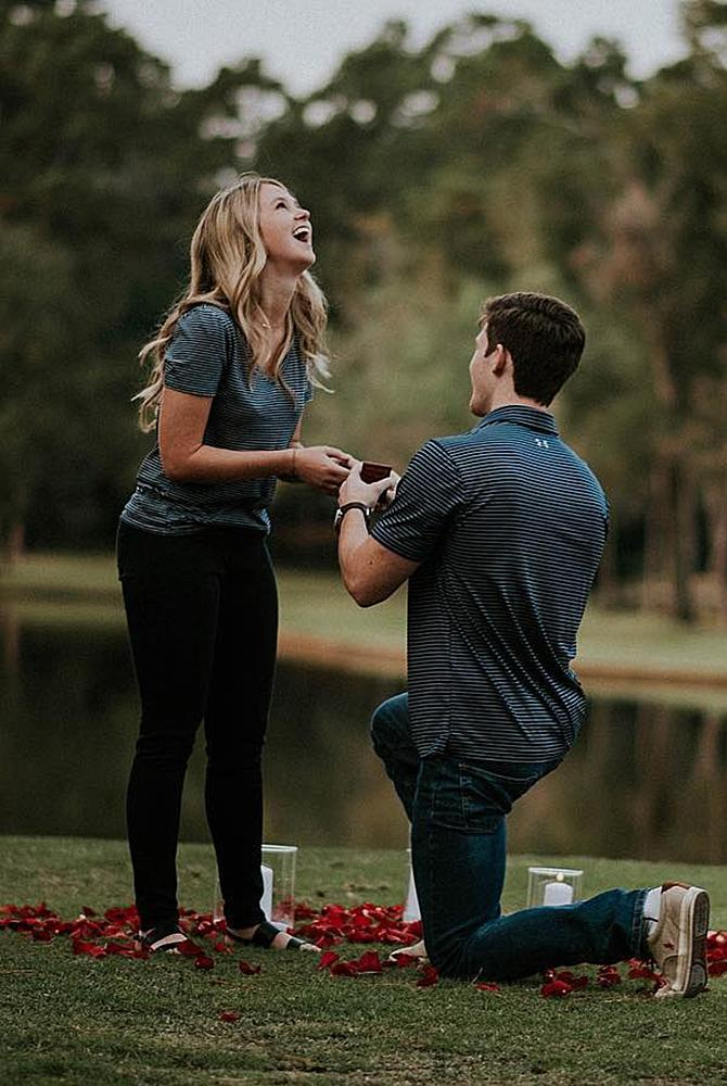 fall proposal ideas propose near the lake
