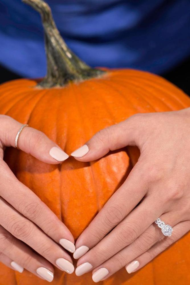 fall proposal ideas zales engagement rings engagement rings with pumpkin