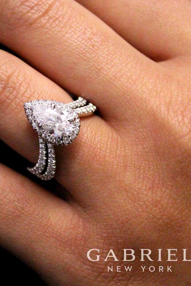 33 Stunning Pear Shaped Engagement Rings Oh So Perfect Proposal