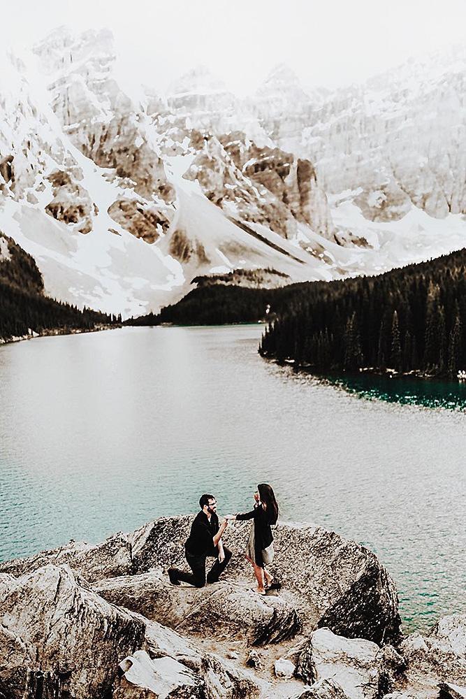 perfect proposals amazing backdrop proposal lake