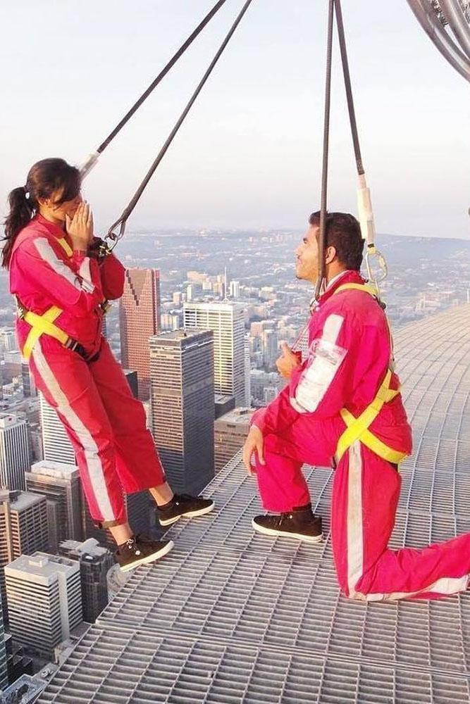 perfect proposals ideas for extreme people