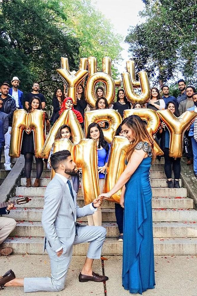 perfect proposals in a creative way