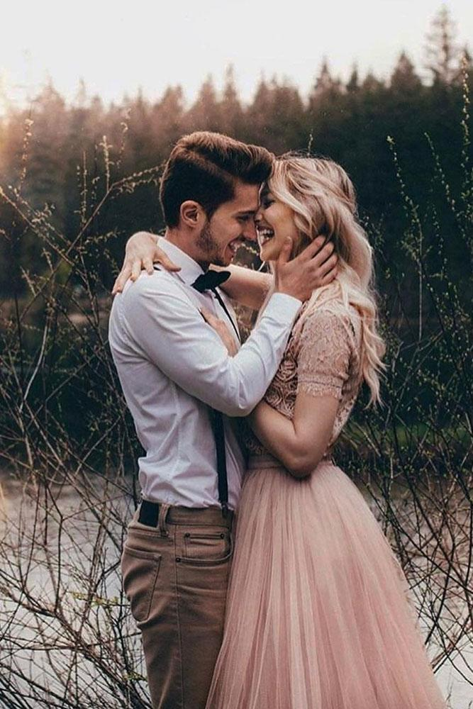 perfect proposals in a forest kiss