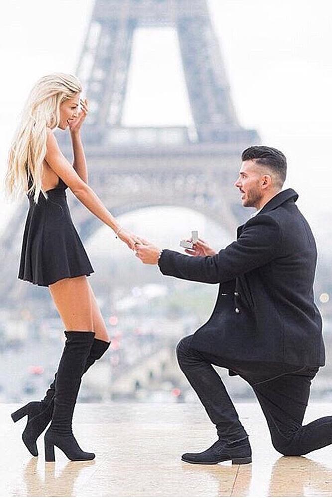 perfect proposals romantic engagement paris couple
