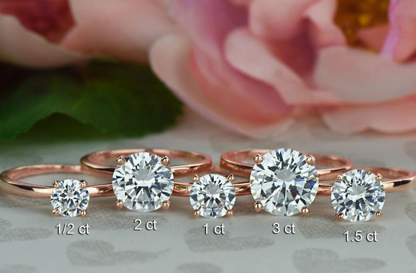 30 Round Engagement Rings Timeless Classic And Not Only Oh So Perfect Proposal