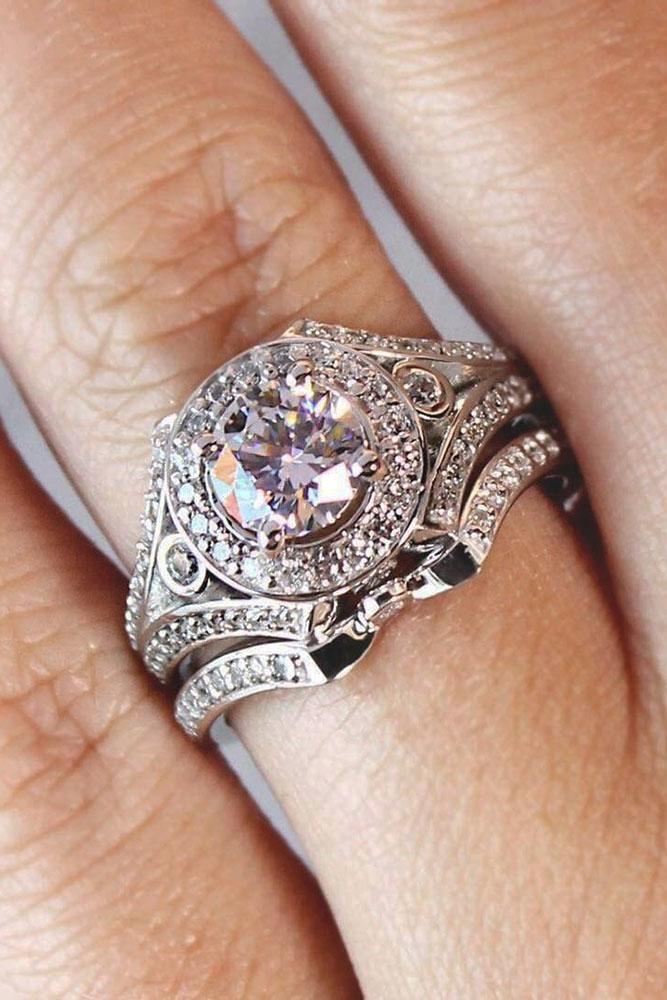 18 Round Engagement Rings Timeless Classic And Not Only