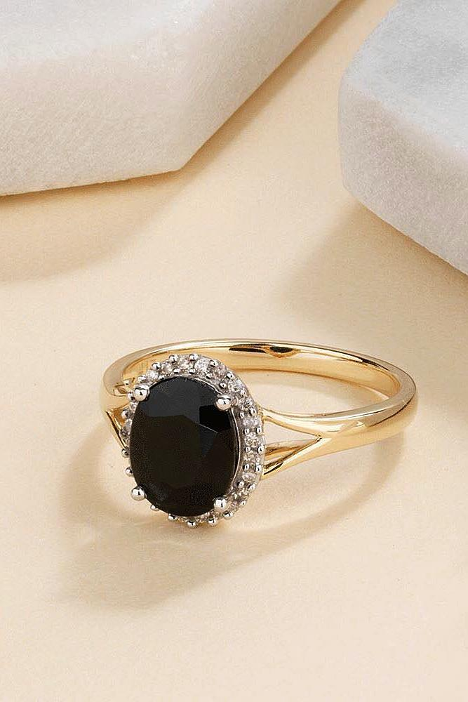 45 Unique Black Diamond Engagement Rings Oh So Perfect Proposal