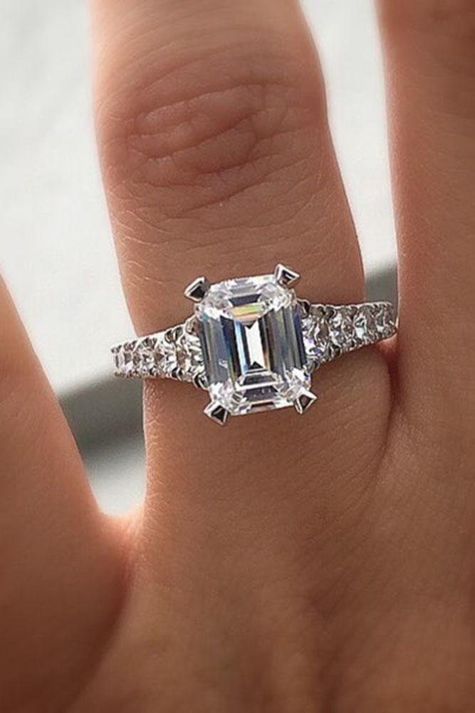 24 Emerald Engagement Rings For A Perfect Finger Oh So