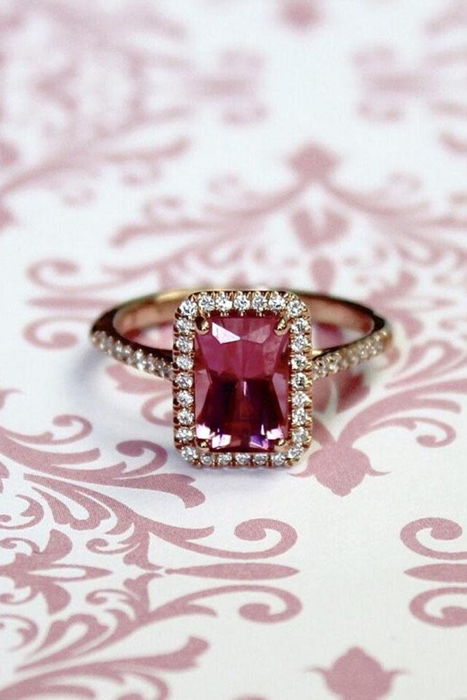 set gemstone madly rings by for in the pink engagement alternative modern singapore brides gems spinel
