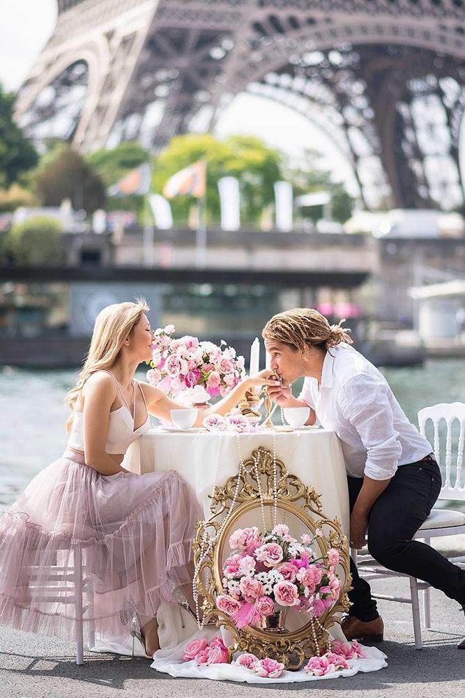 marriage proposal engagement photo paris proposal