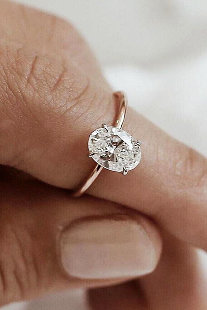 24 Oval Engagement Rings That Every Girl Dreams Oh So