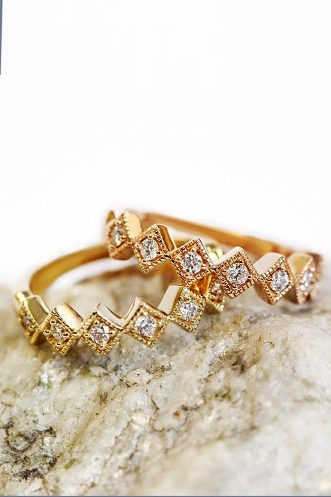 ritani engagement rings gorgeous yellow gold wedding bands pave band with diamonds ritani min