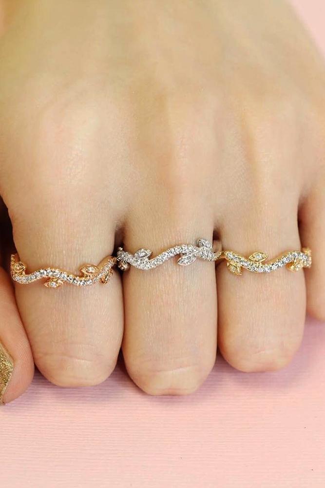 ritani engagement rings rose gold yellow gold white gold bands
